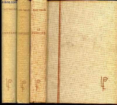 JACQUES VINGTRAS - en 3 VOLUMES ( LE BACHELIER + L'ENFANT + L'INSURGE.
