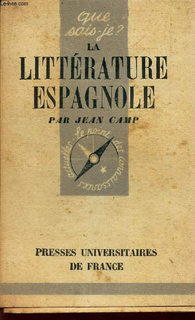 LA LITTERATURE ESPAGNOLE / N°114 DE