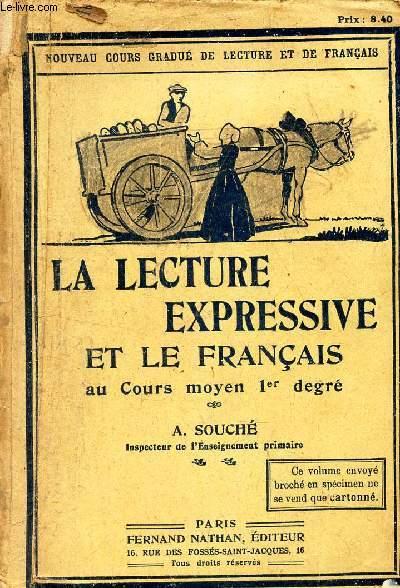 LA LECTURE EXPRESSIVE ET LE FRANCAIS - au cours moyen 1er degré.