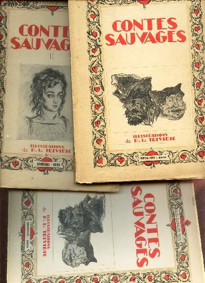 CONTES SAUVAGES - EN 2 VOLUMES : TOMES 1 + 2.