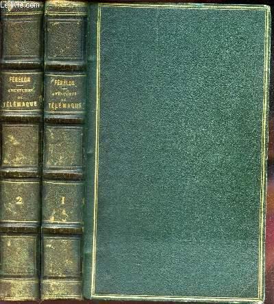 AVENTURES DE TELEMAQUE - EN 2 VOLUMES : TOMES 1 + 2.