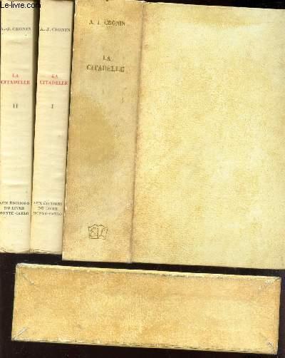 LA CITADELLE - EN 2 VOLUMES- TOME PREMIER + TOME SECOND.