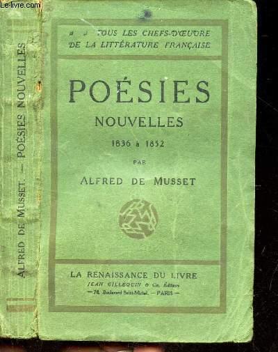 POESIES NOUVELLES - 1836 à 1852 // COLLECTION