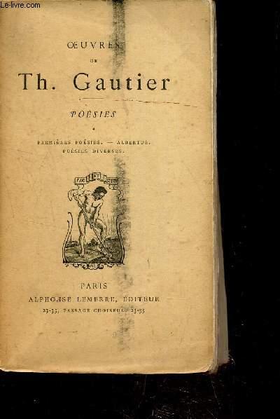 OEUVRES DE THEOPHILE GAUTIER - POESIES