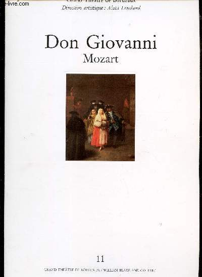 DON GIOVANNI - MOZART.