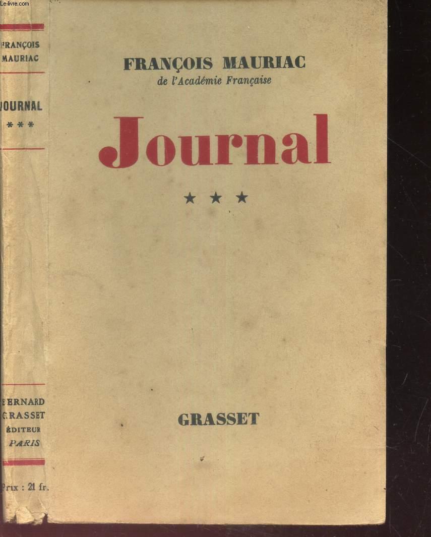JOURNAL - TOME 3eme.