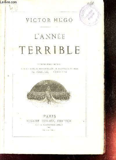 L'ANNEE TERRIBLE