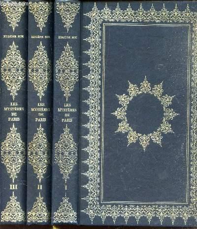 LES MYSTERES DE PARIS - EN 3 VOLUMES : TOMES 1 + 2 + 3.