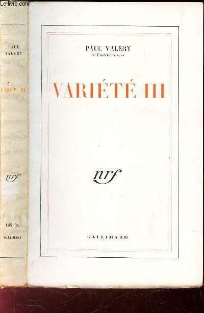 VARIETE III