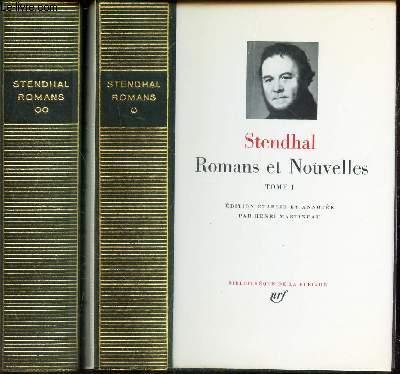 ROMANS ET NOUVELLES - EN 2 VOLUMES : TOMES 1 et 2 :