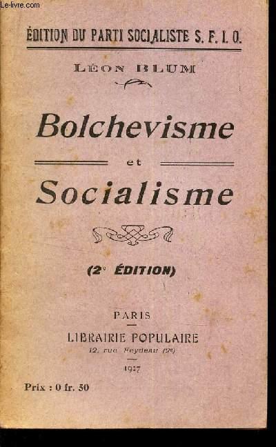 BOLCHEVISME ET SOCIALISME