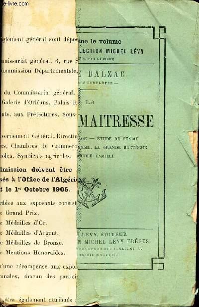 LA FAUSSE MAITRESSE -  La Paix Du Menage. Etude De Femme. L'Autre Etude De Femme, La Grande Breteche. Une Double Famille.