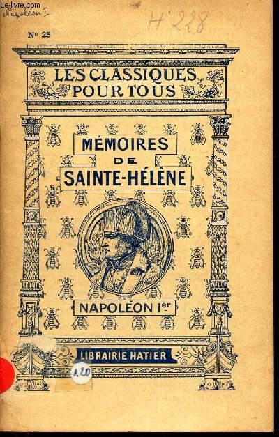 MEMOIRES DE SAINTE-HELENE.