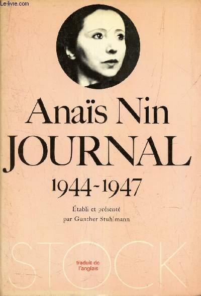 JOURNAL  1944-1947 (4eme VOLUME)