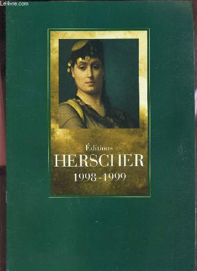 CATALOGUE - EDITIONS HERSCHER 1998-1999.