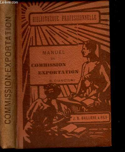 MANUEL DE COMMISSION EXPORTATION