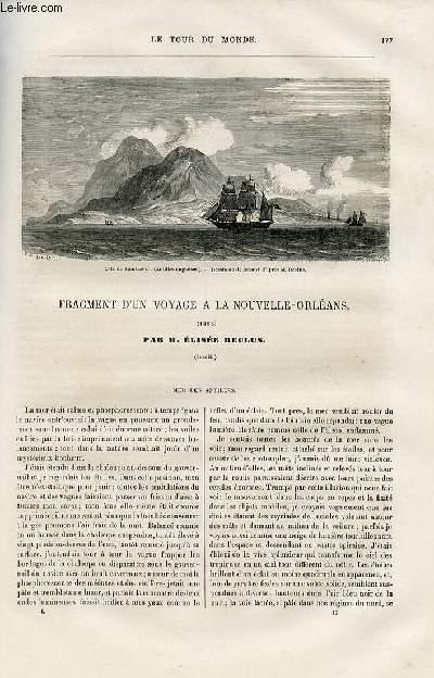 Le tour du monde - nouveau journal des voyages - livraison n°012 - Fragments d'un voayge à la Nouvelle Orléans (1855) par Elisée Reclus.