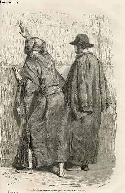 Le tour du monde - nouveau journal des voyages - livraison n°025 et n°26 - Voyages en Palestine (1856-1859) : quinze jours à Jérusalem (1856).