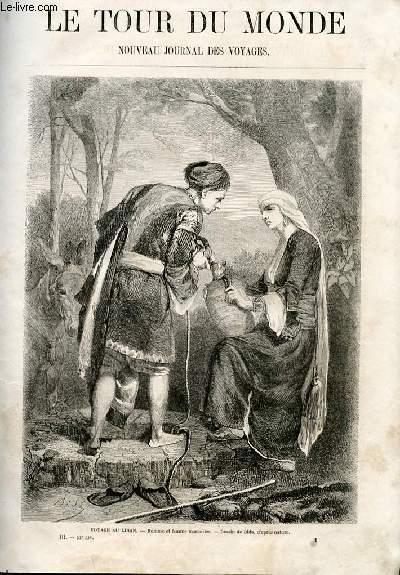 Le tour du monde - nouveau journal des voyages - livraison n°053 - Souvenirs d'un voyage au Liban par E. A. Spoll (1859).