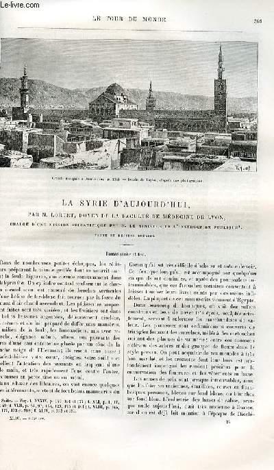 Le tour du monde - nouveau journal des voyages - livraison n°1144 (numérotée 1119) - Excursion au Samourzakan et en Abkasie par MAdame clara Serena. 1881.