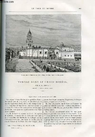 Le tour du monde - nouveau journal des voyages - livraisons n°1497, 1498 et 1499 - Voyage dans le Chaco boréal par Thouar;