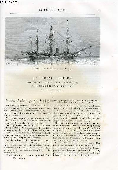 Le tour du monde - nouveau journal des voyages - livraisons n°1562 et 1563 - Le