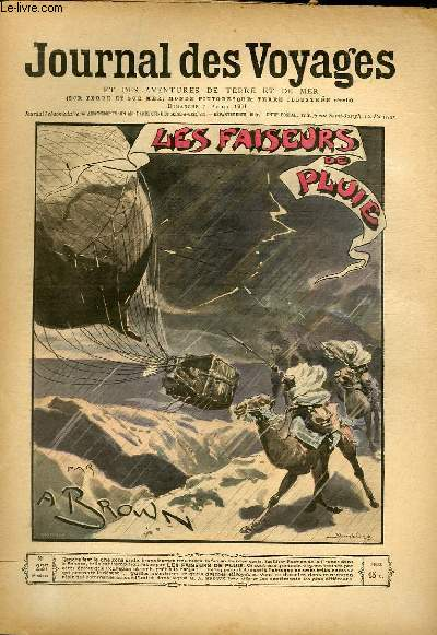 Deuxième série - N°227 - Les faiseurs de pluie par A. Brown, à suivre.