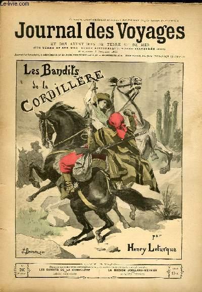 Deuxième série - N°240 - Les bandits de la cordillère par Henry Leturque, à suivre.