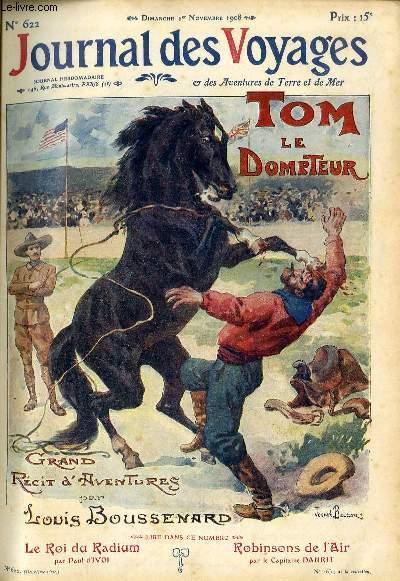 Deuxième série - N°622 - Tom le dresseur par Louis Boussenard,suite.