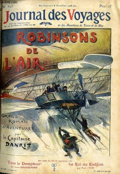 Deuxième série - N°623 - Robinsons de l'air par le capitaine Danrit,suite.