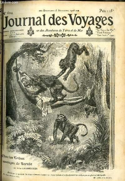 Deuxième série - N°624 - Chez les tribus sauvages de Bornéo par Léon Charpentier.