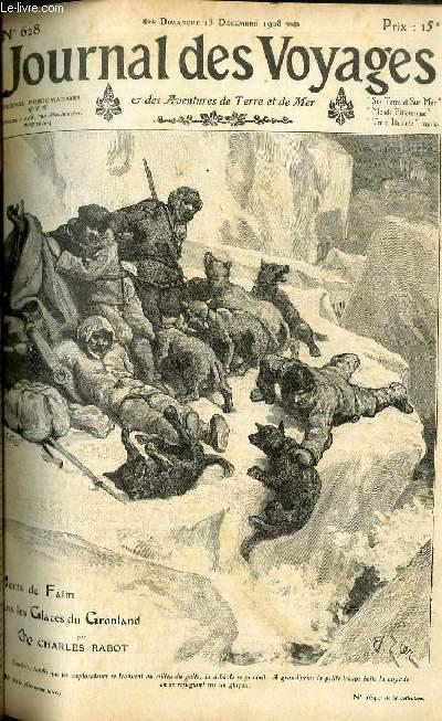 Deuxième série - N°628 - Morts de faim dans les glaces du Groenland par Charles Rabot.