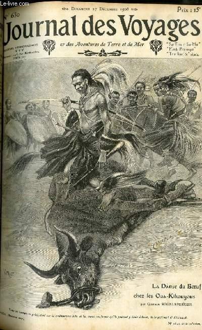 Deuxième série - N°630 - La danse du boeuf chez les Oua Kikouyous par Gustave Regelsperger.