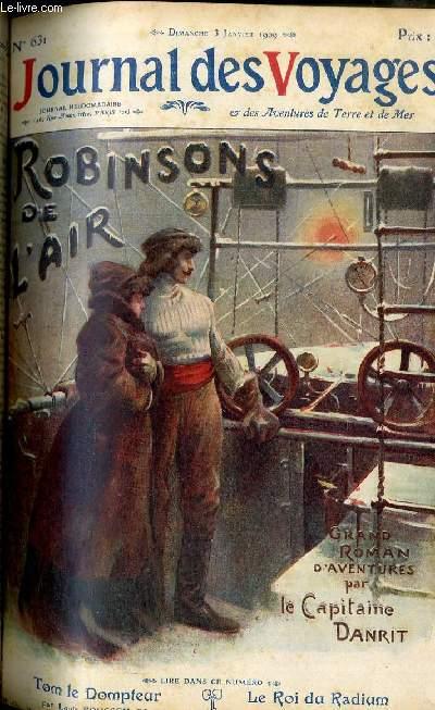 Deuxième série - N°631 - Robinsons de l'air par le capitaine Danrit,suite.