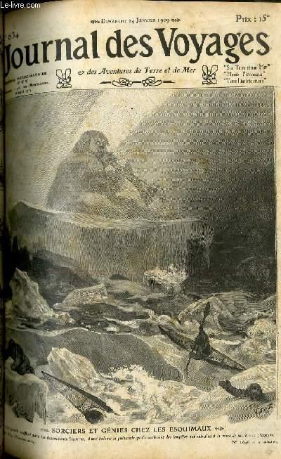 Deuxième série - N°634 - Sorciers et génies chez les Esquimaux par Léon Charpentier.