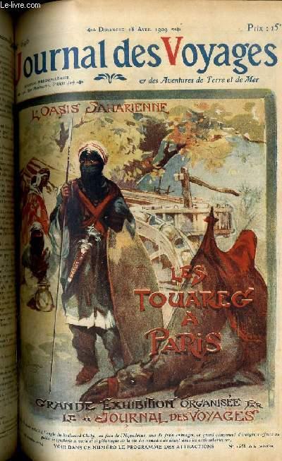 Deuxième série - N°646 - L'oasis saharienne - Les touaregs à Paris, grande exhibition organisée par le Journal des voyages.