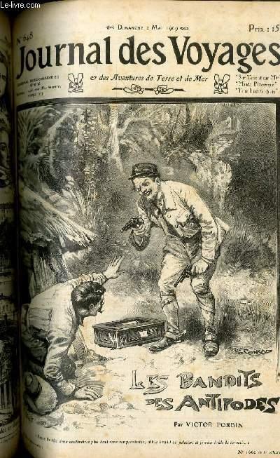 Deuxième série - N°648 - Les bandits des antipodes  - le roi des Bushrangers par Victor Forbin.