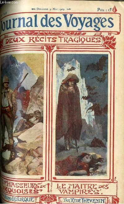Deuxième série - N°649 - Les chassseurs turquoises par Henry Leturque et Le maitres des vampires par René Thévenin, à suivre.