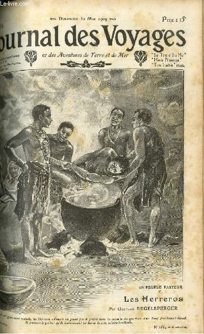 Deuxième série - N°652 - Un peuple pasteur: les Herreros par Gustave Regelsperger.