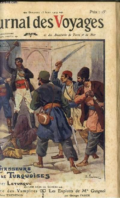 Deuxième série - N°663 - Les chasseurs de turquoises par Henry Leturque.