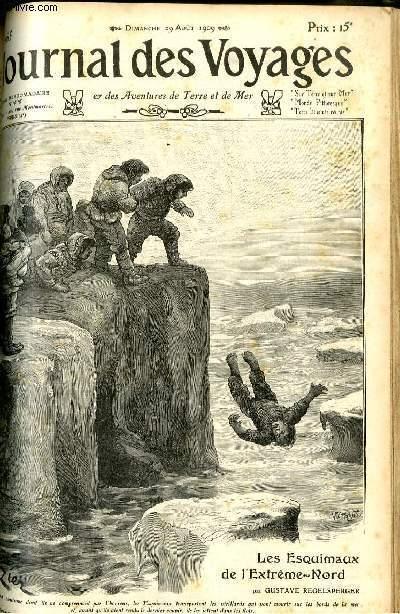 Deuxième série - N°665 - Les esquimaux de l'Extrême Nord par Gustave Regelsperger.