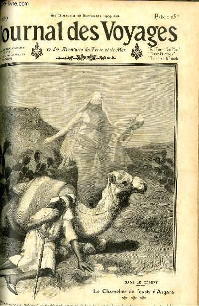 Deuxième série - N°669 - Le chamelier de l'oasis d'Asgara par Lucien Zévore.