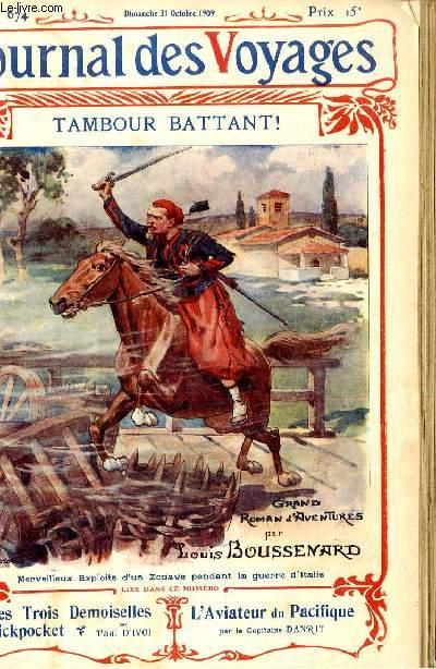 Deuxième série - N°674 - Tambour battant par Louis Boussenard.
