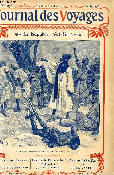 Deuxième série - N°676 - Le supplice d'Ali Seck par Paul Clermont.