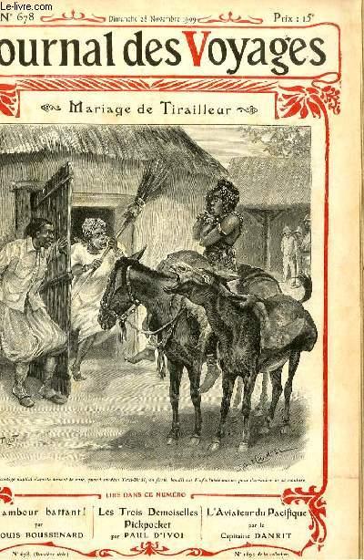 Deuxième série - N°678 - Mariage de tirailleur par Habert de Ginestet.