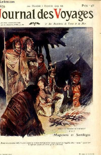 Deuxième série - N°679 - Chez les Indiens du far West : magiciens et sortilèges par Victor Forbin.