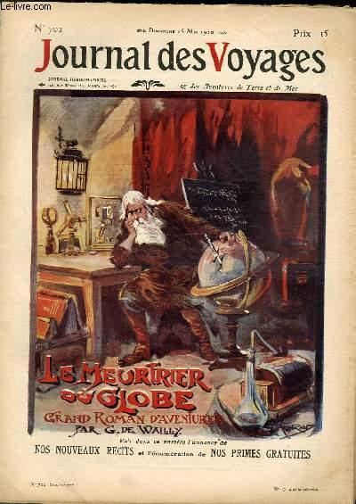 Deuxième série - N°702 - Le meurtrier du globe par G. de Wailly, à suivrE.