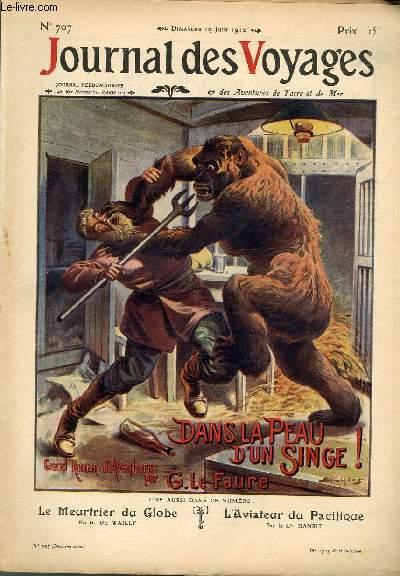 Deuxième série - N°707 - Dans la peau d'un singe par Georges Le FAure,suite.