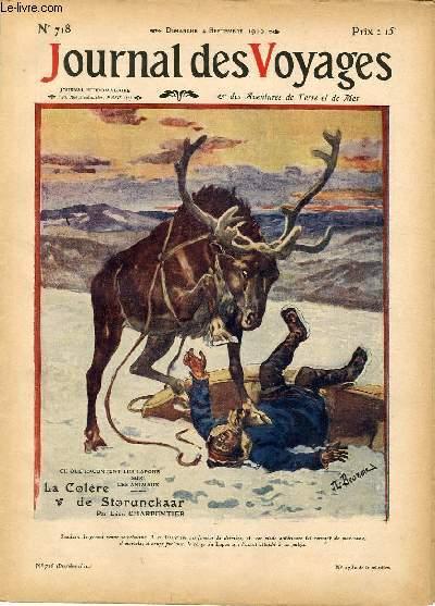 Deuxième série - N°718 - La colère de Storunckaar par Léon Charpentier.