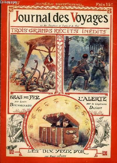 Deuxième série - N°727 - Numéro exceptionnel: Bras de fer par Louis Boussenard,à suivre.